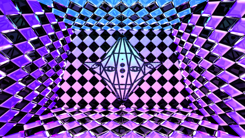 Crystal Man Hallway